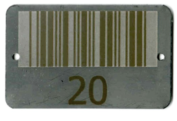 rectangle stainless steel tag