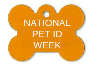 bone tag pet id week