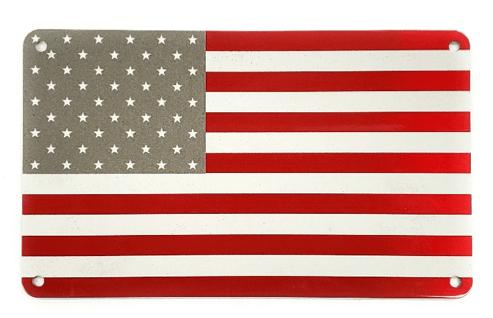american flag tag