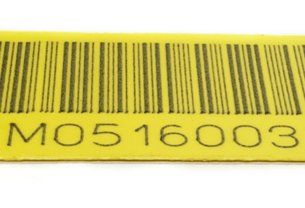 laser marked tags